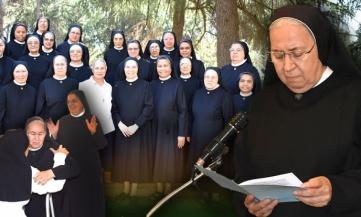 La nuova Superiora generale Madre ANGELA SANTORO